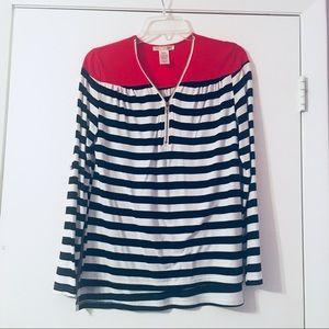 Agaci mid sleeve or long sleeve blouse